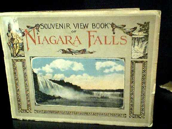 Image for Souvenir View Book of Niagara Falls