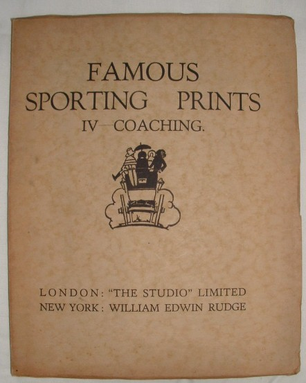Image for Famous Sporting Prints IV Coaching
