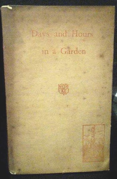 Image for Days and Hours in a Garden