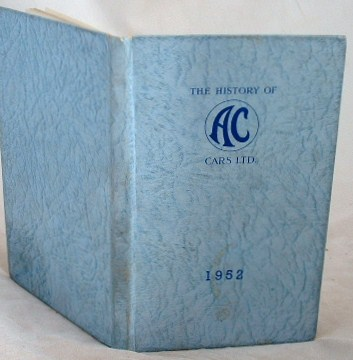 Image for The History of A.C. Cars Ltd