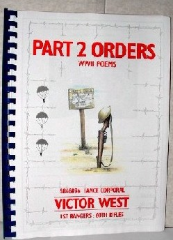 Image for Part 2 Orders WW II Poems