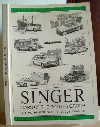 Image for Singer Cars of the Rootes Group SM 1500 Hunter Gazelle Vogue Chamois