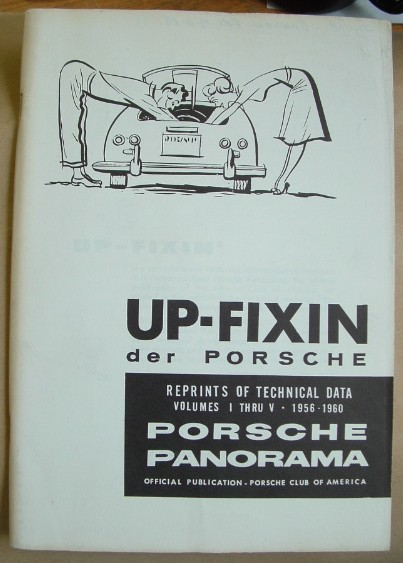 Image for Up Fixin Der Porsche  Volume 1