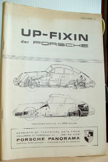 Image for Up Fixin Der Porsche  Volume 2