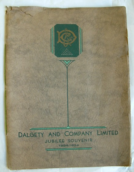 Image for Dalgety and Company Limited 1884-1934 Jubilee Souvenir