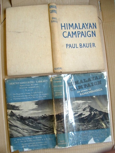 Image for Himalayan Campaign the German Attack on Kangchenjunga
