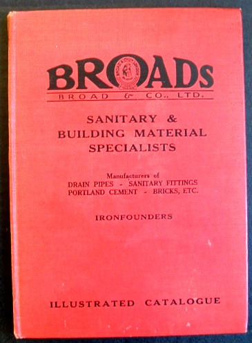 Image for Broads Sanitary and Buiding Materials  Catalogue
