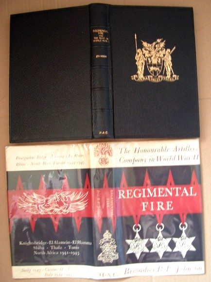 Image for Regimental Fire the Honourable Artillery Company in World War II 1939-1945