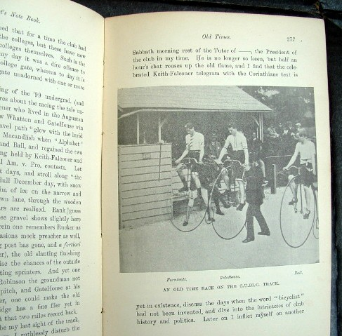 Image for A Cyclist's Note Book