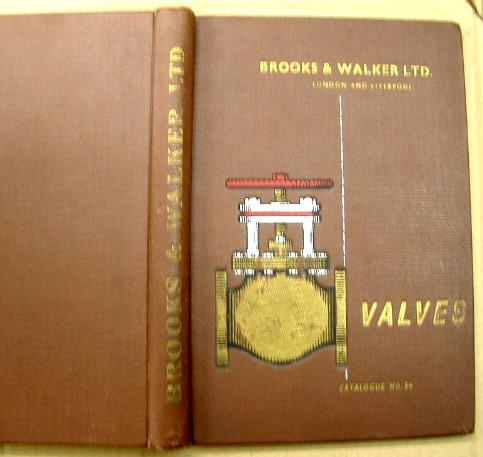 Image for Brooks and Walker Valve Catalogue No. 54