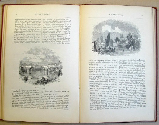 Image for Up the River from Westminster to Windsor and Oxford a Descriptive Panorama of Thames Scenery