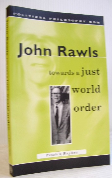 Image for John Rawls: Towards a Just World Order