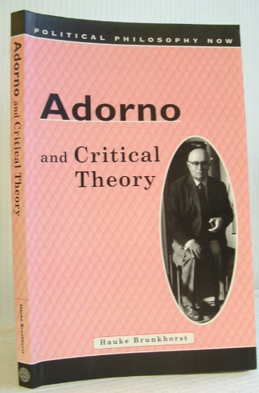 Image for Adorno and Critical Theory