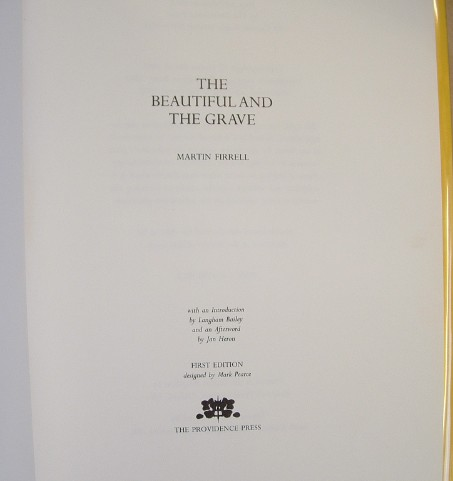 Image for Beautiful and the Grave