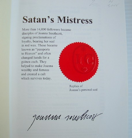 Image for Satan's Mistress: Extraordinary Story of the Eighteenth Century Fanatic Joanna Southcott, and Her Life Long Battle with the Devil