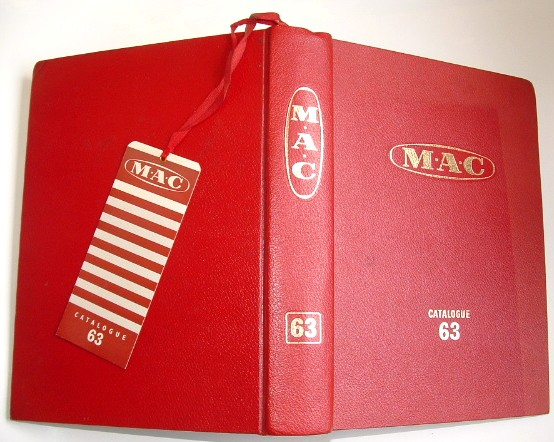 Image for Metal Agencies Co Ltd M A C Catalogue 63