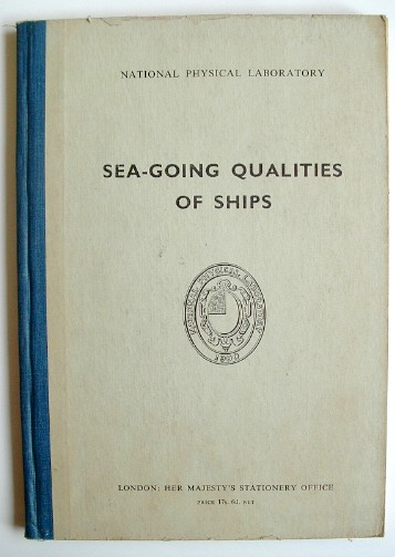 Image for Sea Going Qualities of Ships a Seminar Held at the National Physical Laboratory 1961
