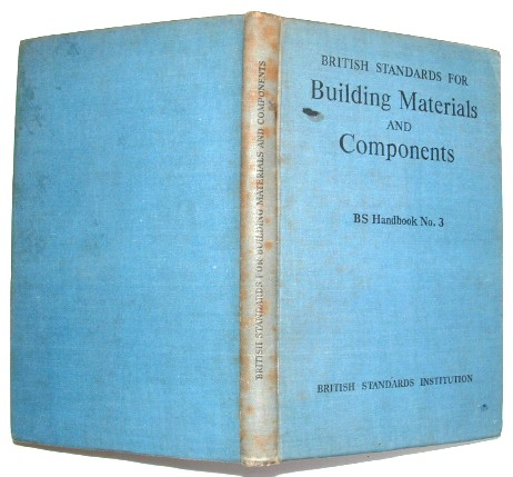 Image for Handbook of British Standards for Building Materials and Components
