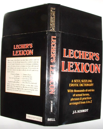 Image for Lecher's Lexicon Erotic Dictionary