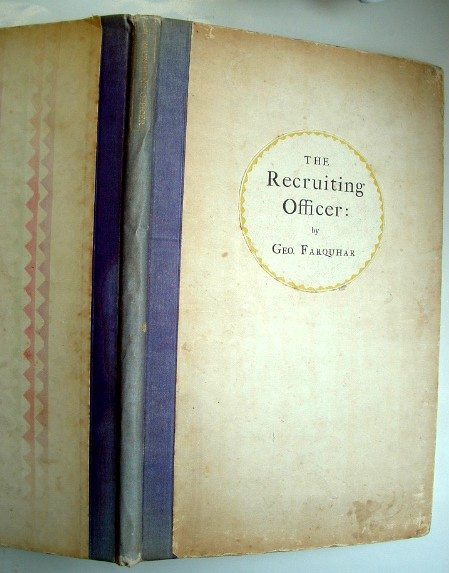 Image for The Recruiting Officer a Comedy