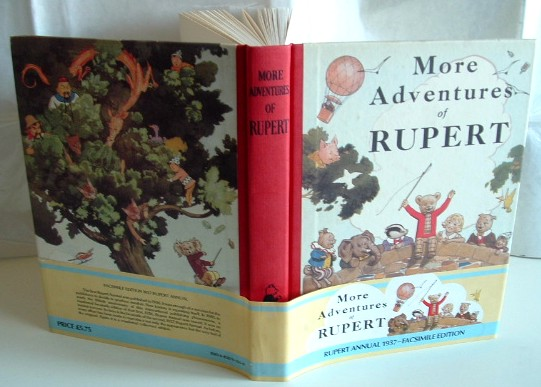 Image for More Adventures of Rupert Facsimile Annual 1937