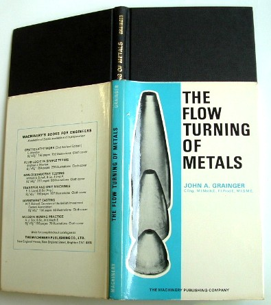 Image for The Flow Turning of Metals