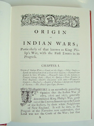 Image for Old Indian Chronicle Being a Collection of Rare Tracts in the Time of King Philip's War