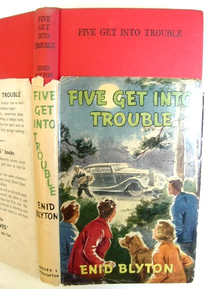 Image for Five Get Into Trouble