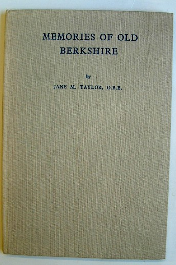 Image for Memories of Old Berkshire