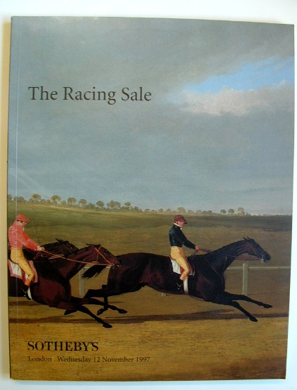 Image for The Racing Sale Auction Catalogue