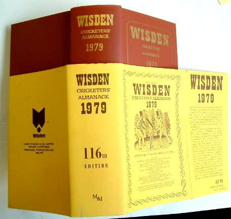 Image for Wisden Cricketers Almanack 1979