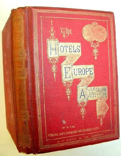 Image for The Hotels of Europe 1887