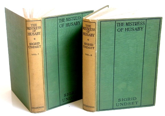 Image for The Mistress of Husaby Kristin Lavransdatter II Two  Volumes