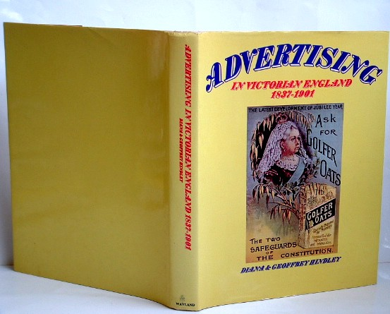 Image for Advertising in Victorian England, 1837-1901