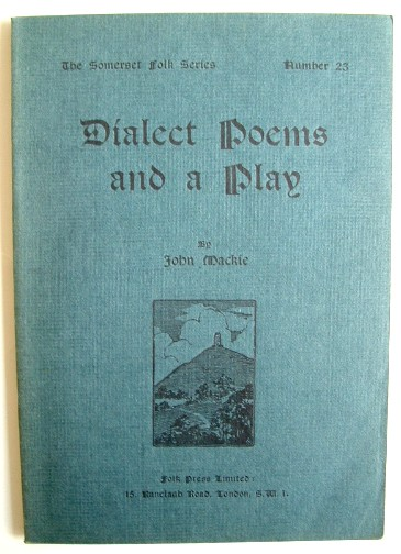 Image for Dialect Poems and a Play
