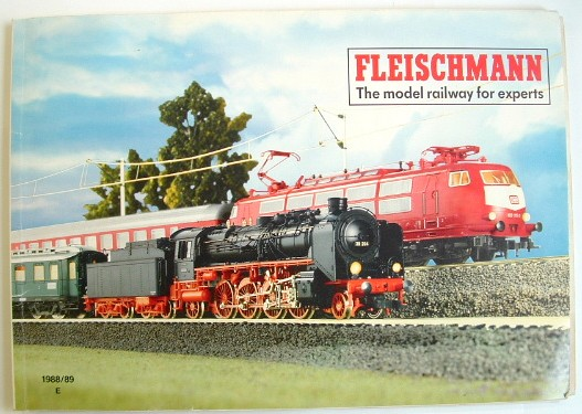 Image for Fleischmann the Model Railway for Experts Trade Catalogue 1988/89