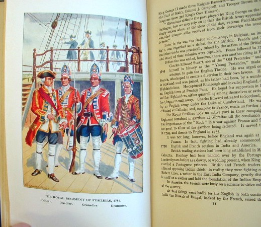Image for The Royal Fusiliers in an Outline of Military History 1685-1938