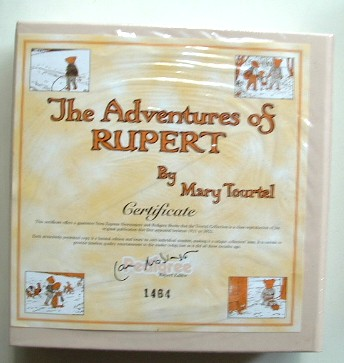 Image for Rupert Tourtel Facsimile the Adventures of Rupert