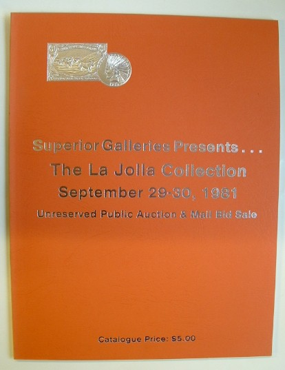 Image for The La Jolla Collection September 29-30, 1981 Auction Catalogue