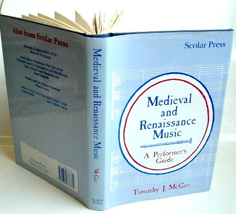 Image for Mediaeval and Renaissance Music : A Performer's Guide