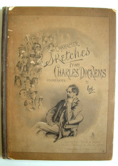 Image for Character Sketches from Charles Dickens Portrayed By Kyd