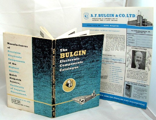 Image for The Bulgin Electronic Components Catalogue 1964