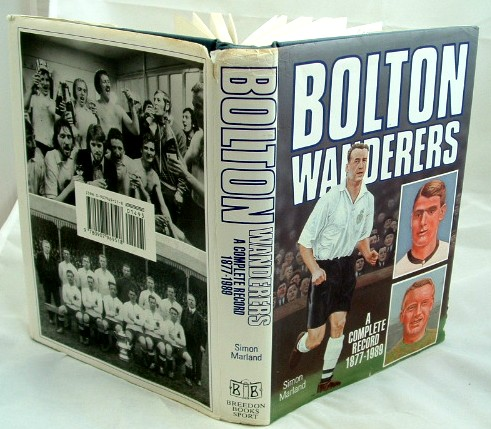 Image for Bolton Wanderers : A Complete Record, 1877-1989