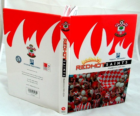 Image for Redhot Saints Official Yearbook 2003-2004