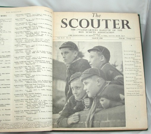 Image for The Scouter the Headquarters Gazette of the Boy Scouts Association