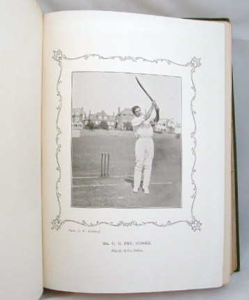 Image for The Cricketer's Autograph Birthday Book