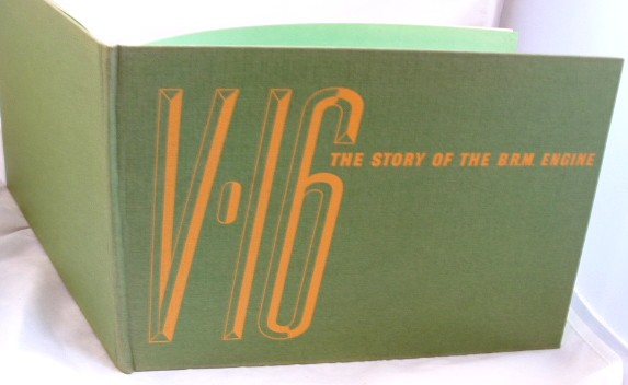 Image for V.16 the Story of the B.R.M. Engine