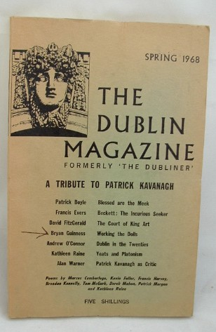 Image for The Dublin Magazine Spring 1968