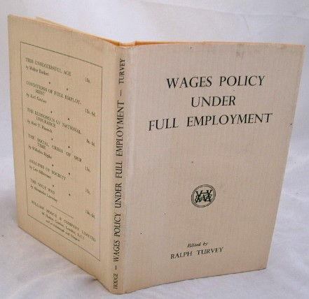 Image for Wages Policy Under Full Employment