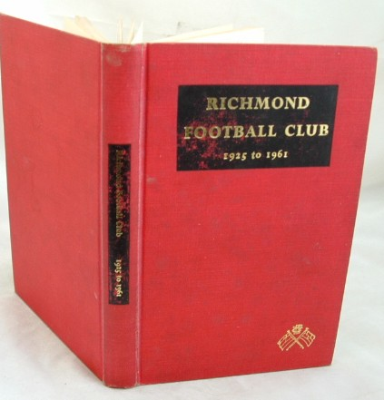 Image for Richmond Football Club 1925 to 1961
